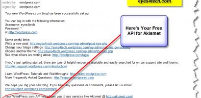 Where Can I Acquire An API Key For Akismet WordPress Plugin