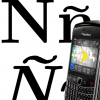 How To Type Accented Characters or Letters In Blackberry Such As Ñ
