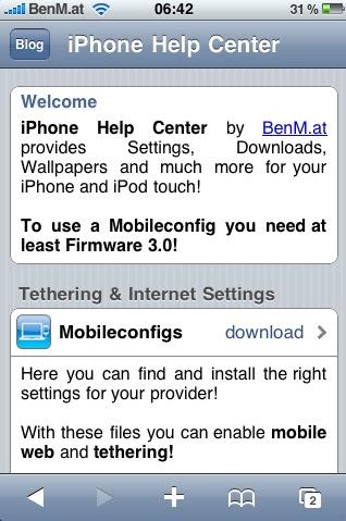 APN Settings Fix for Jailbreak iPhone iOS 5 Beta 7