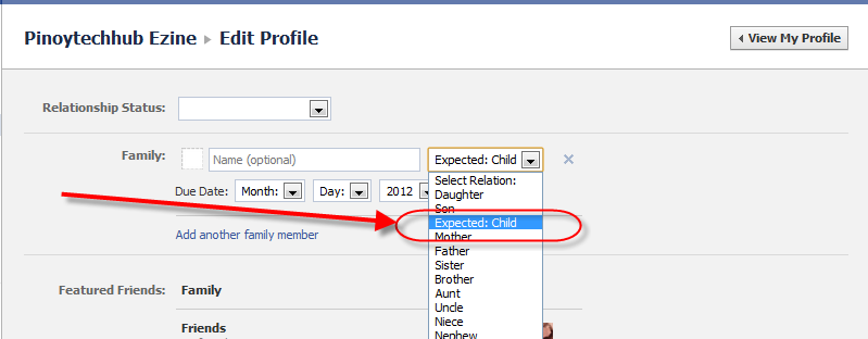 Facebook-Add-Expecting-A-Baby