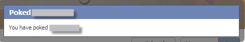 Facebook Poke Notification