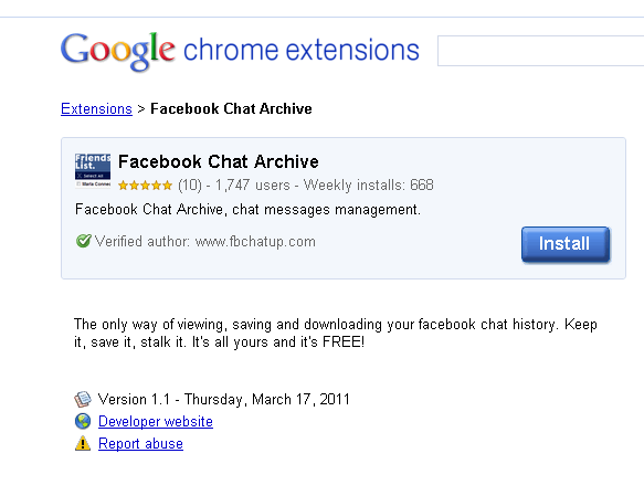 Google-Chrome-Extensions-Facebook-Chat-Archive