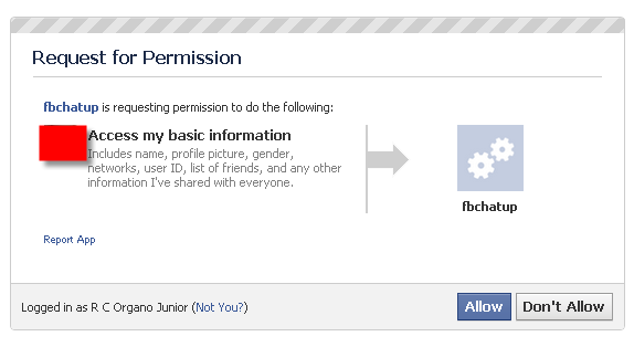 Permitting-Facebook-Chat-Archive