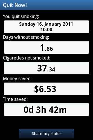 QuitNow02 How To Quit Smoking With FREE Android Apps?