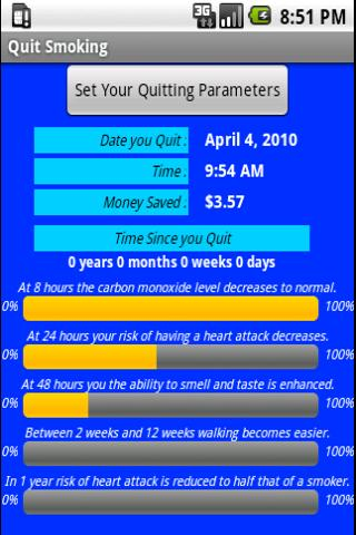 QuitSmoking Screenshot 01