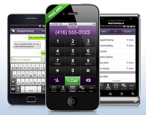 Viber Viber 3G VoIP App Launches on Android Market   Free SMS Messages and Calls