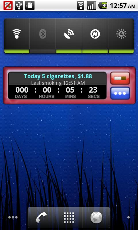 mySmokLog Screenshot 02