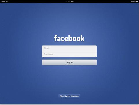 Facebook For iPad