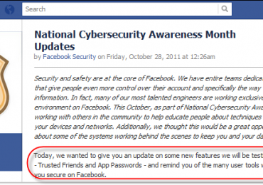 "Facebook ""Trusted Friends"" Feature To Unlock Forgotten Password"