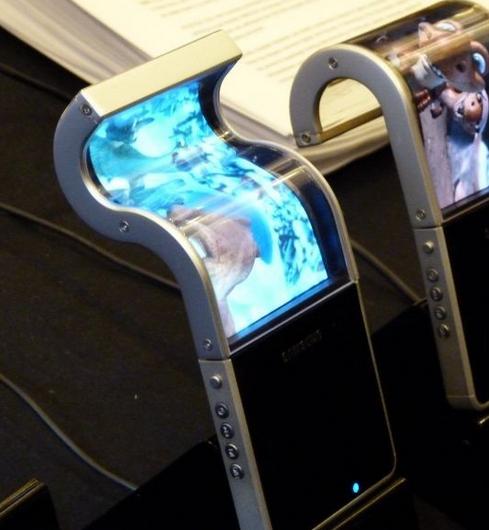 Samsung Flexible OLED Samsung Phones With Flexible Display By 2012   Battles Nokias Kinetic Display