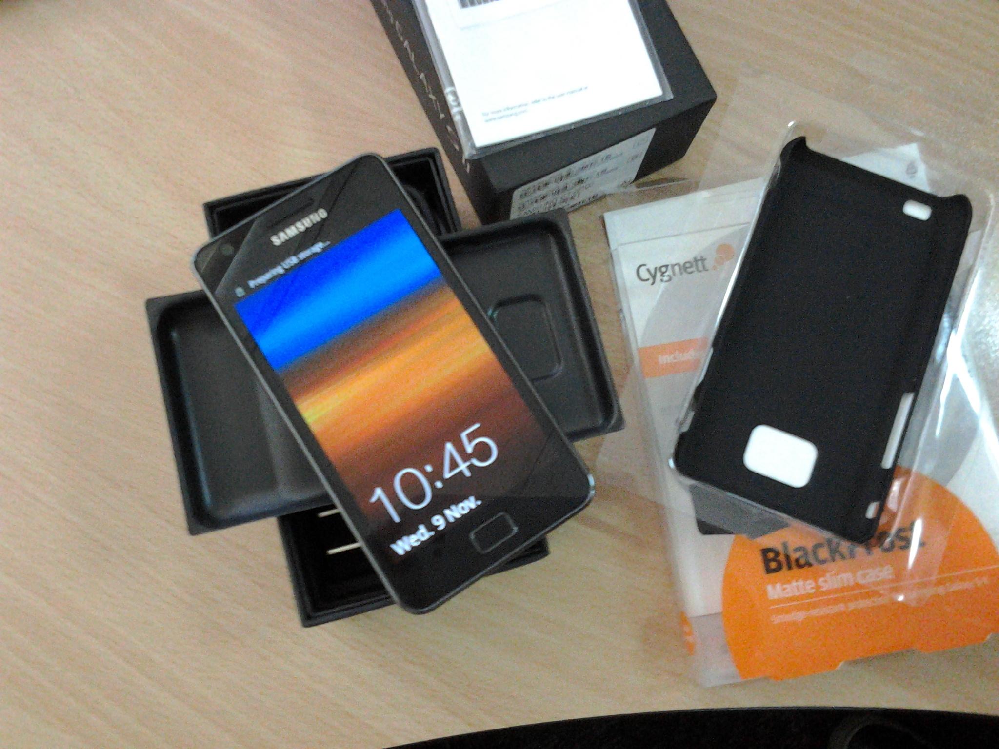 Unboxing Samsung Galaxy S II