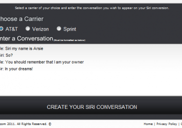 iPhone 4S Siri Trick – Create Your Own Cool Siri Conversation