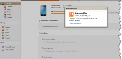 How To Upgrade Samsung Firmware Using Kies