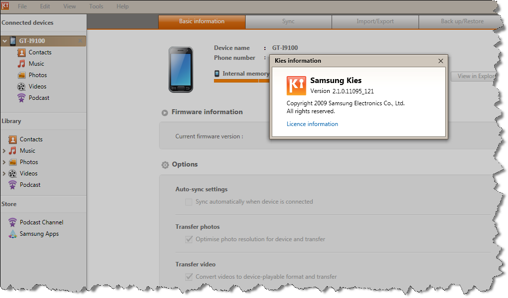 Samsung Kies How To Upgrade Samsung Firmware Using Kies