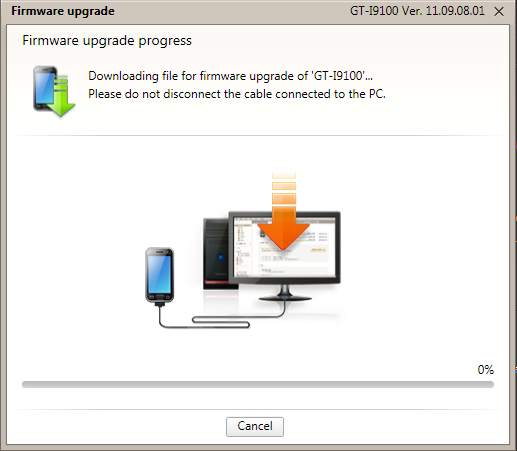 Upgrading How To Upgrade Samsung Firmware Using Kies