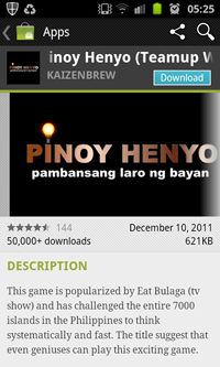 Download Pinoy Henyo Pinoy Henyo (Teamup Word Game)   Top Free Game Android App