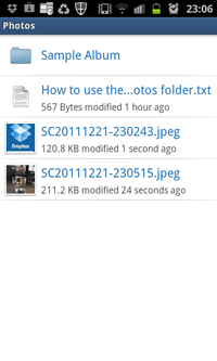 Dropbox Folder - Photos