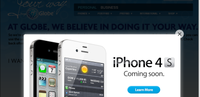 iPhone 4S Philippines Globe Telecom Joins The Bandwagon Online Registration Now Open