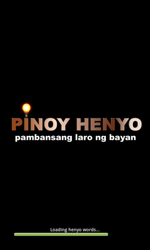 Pinoy Henyo Loading