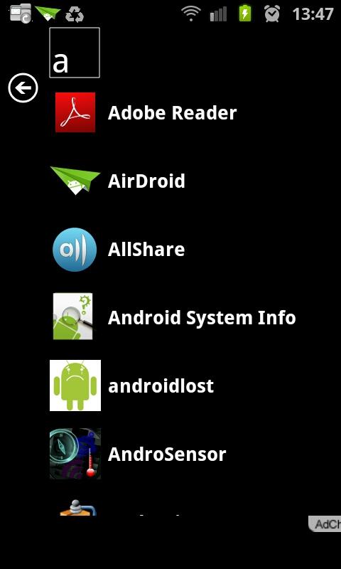 Launcher 7 Default Home Screen