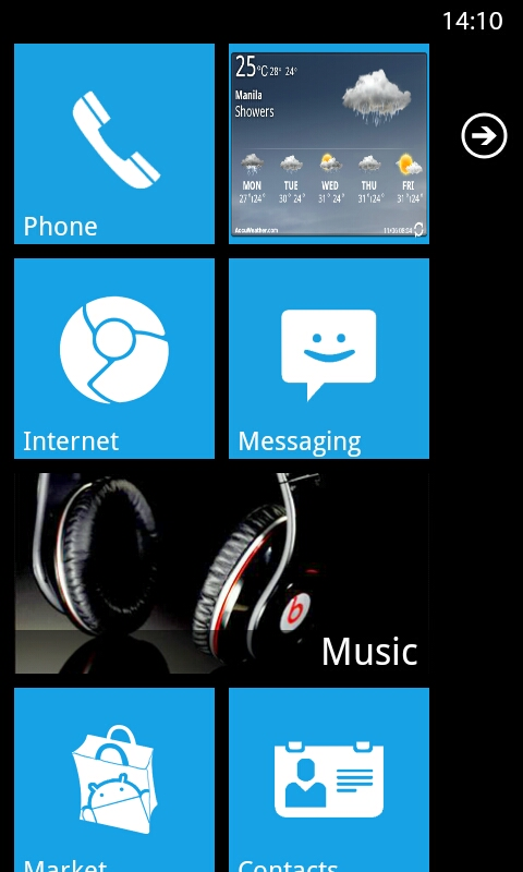 Launcher 7 Windows 7 UI for Android