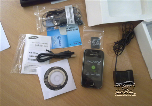 Samsung Galaxy Y Package Globe