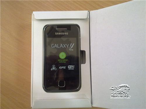 Samsung Galaxy Y Unboxing from Globe