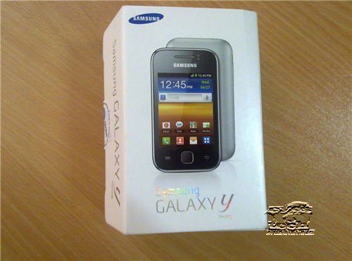 Samsung Galaxy Y Unboxing