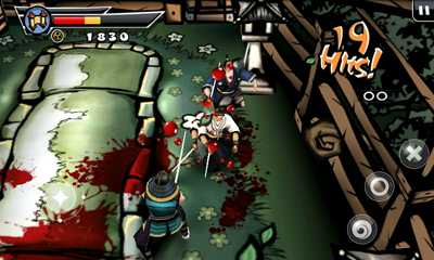 Samurai Vengeance II Killing The Enemies