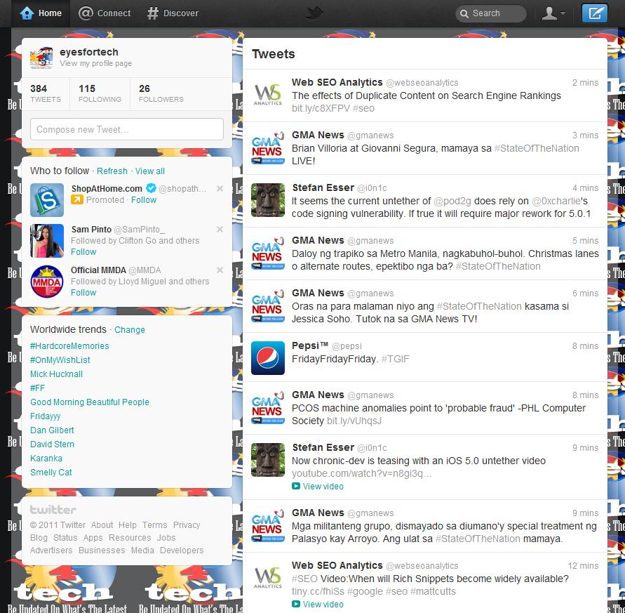 Twitter Website Gets Overhauled As Well