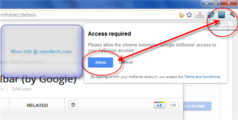 Activate AdSense Publisher Toolbar