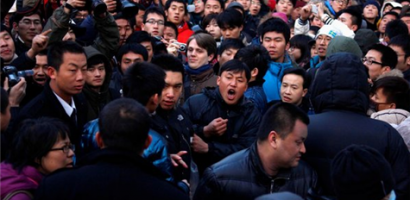 iPhone 4S Grand Opening In China – Sanlitun District Pelted With Eggs