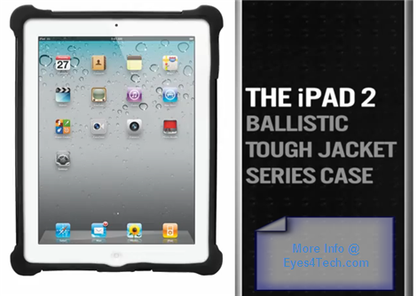 Ballistic Tough iPad 2 Jacket