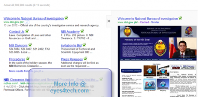 Anonymous Hackers Takes NBI's Official Website Down