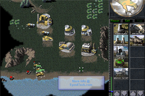 Command And Conquer Winning the game