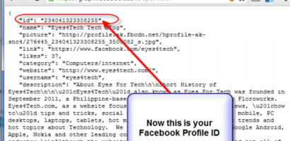 How To Find Facebook ID Profile Number