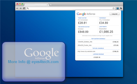 Google Adsense Publisher Tools Google AdSense Publisher Toolbar   Monitor Your Earnings Anytime