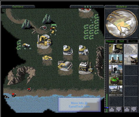 HTML5 Game Command And Conquer
