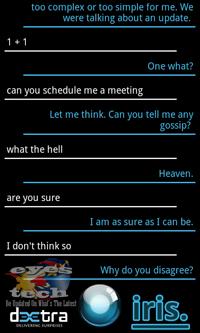 IRIS Conversation 7