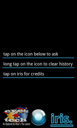 Iris Startup [Android App Review] IRIS The Alternative Siri for Android Partners With ChaCha Database