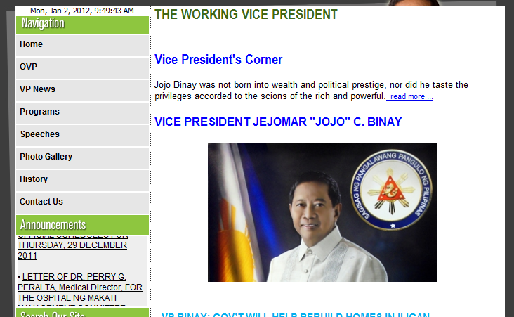 OVP Website