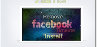 Facebook Timeline Removal Or Uninstall Scam On The Loose – BEWARE