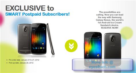 Samsung Galaxy Nexus On Smart Postpaid