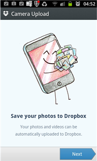 Dropbox Camera Upload New Feature