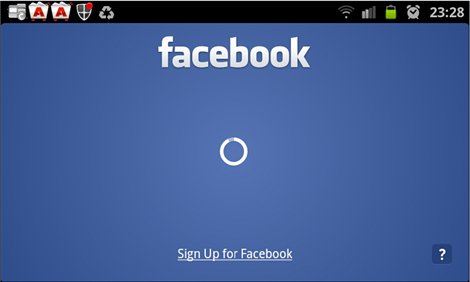 Facebook For Android ver 1.8.3