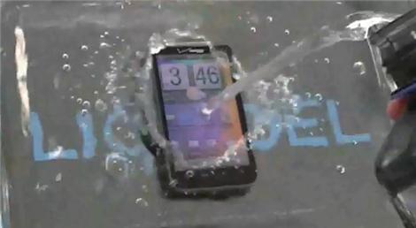 HTC Thunderbolt 4G Test With LIQUIPEL