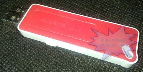 Plain USB Flash Drive