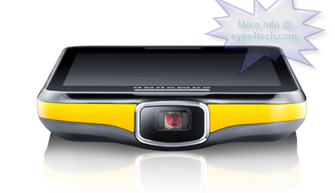 Samsung Galaxy Beam smartphone