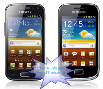 Samsung New Galaxy Smartphones