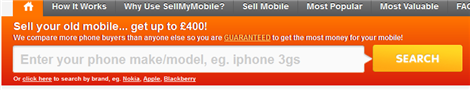 Search for Mobile You Want To Sell
